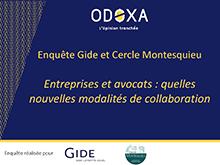 Gide - Cercle Montesquieu | Enquête client | Décembre 2019