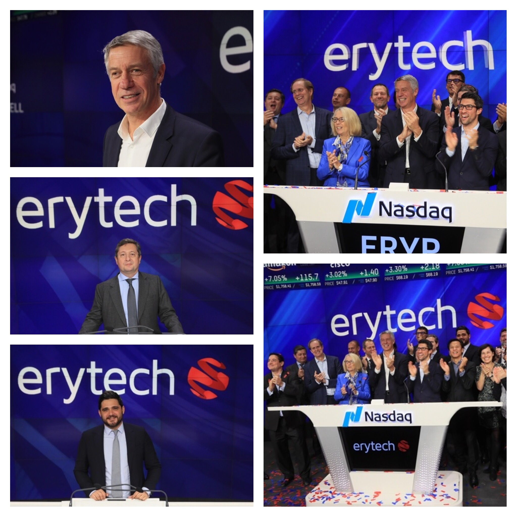 Erytech Pharma S.A. IPO   Closing Bell   New York