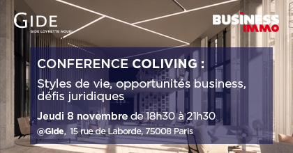 Gide-Business Immo | Conférence Coliving | 8 novembre 2018