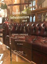 Grand Prix Infrastructure - Refinancement 2018 | Magazine des Affaires