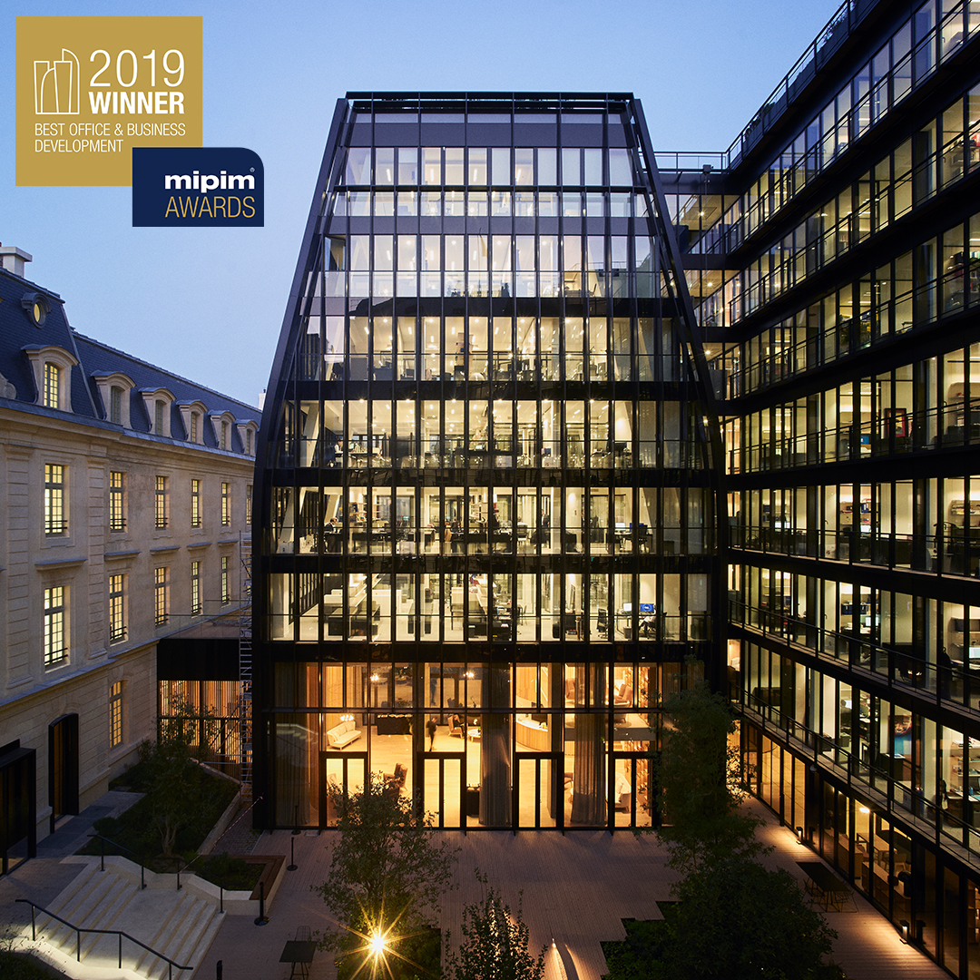 Laborde | Gide's new HQ in Paris | Best Office & Business Development | MIPIM Awards 2019