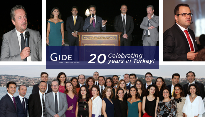 Gide Turkey's 20-year Anniversary