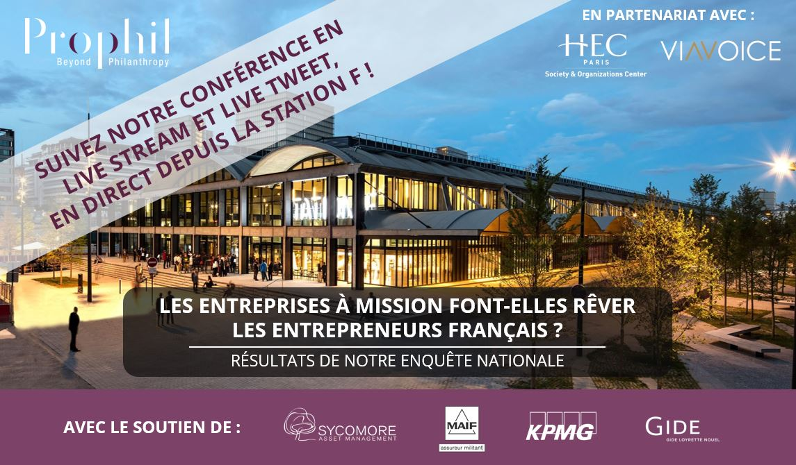 Enquete Prophil | Les entreprises à mission font-elles rêver les entrepreneurs français ?