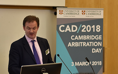 Cambridge Arbitration Day | 3 March 2018