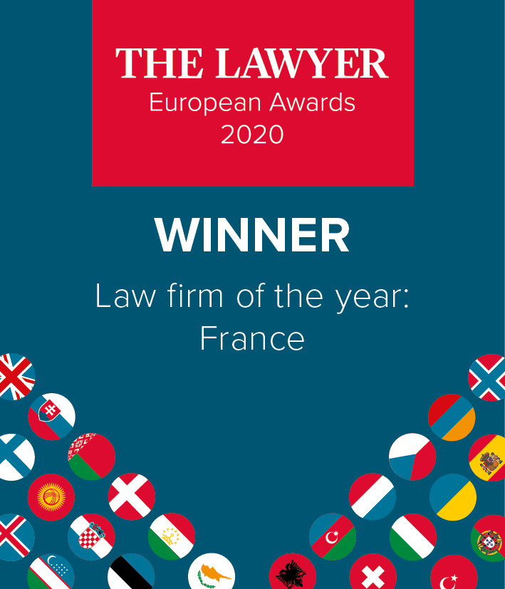 Gide elected France Law Firm of the Year | The Lawyer European Awards 2020